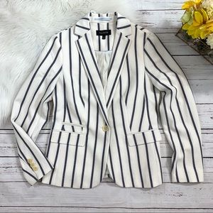 NEW Talbots Striped Blazer Sz 4